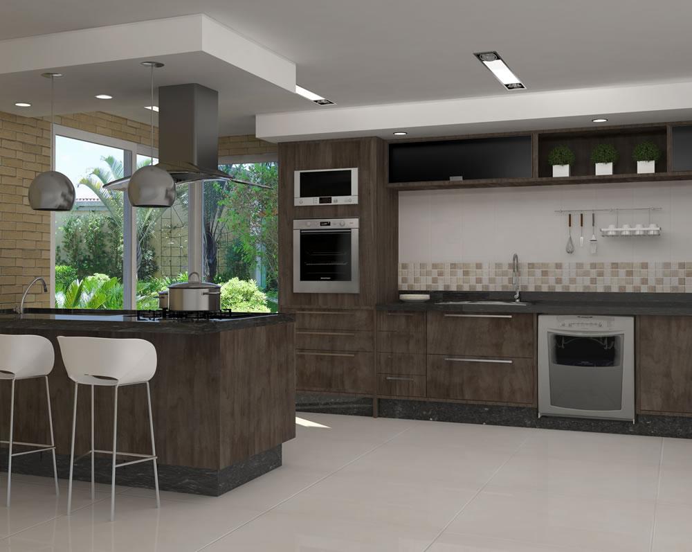 Cozinha Planejada Apartamento Caminhos Da Lapa